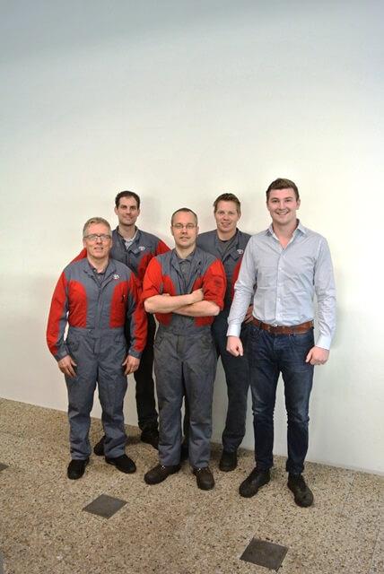 Het werkplaatsteam